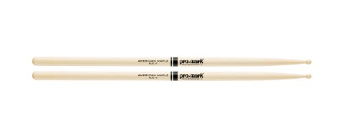 Promark MJZ9 American Maple Jazz Caf Wood Tip, Single Pair