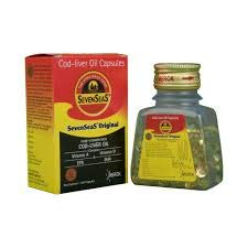 Seven Seas Cod Lever Oil Capsules-100 ct (Pack of 3)