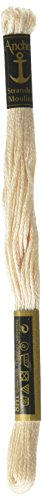 Anchor Six Strand Embroidery Floss 8.75 Yards-Pearl 12 per box