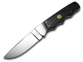 Canal Street Black Micarta Fixed Blade Hunter 440C Stainless Knife Knives (Cutlery Street Canal)