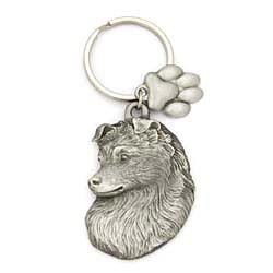 Shetland Sheepdog Keychain by Karas and Rocha Marketing