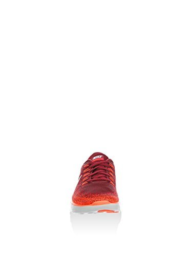 1b313e085ed1 Galleon - Nike Men s Free RN Distance Team Red University Red Total  Crimson Off White Nylon Running Shoes 11 M US