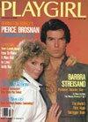 Playgirl Magazine February 1984 / Pierce Brosnan, Barbra