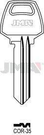 10 X COR-35 Corbin JMA Key Blanks