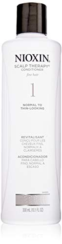 Cleanser 1 Nioxin - Nioxin Scalp Therapy Conditioner System 1 for Fine Hair with Light Thinning, 10.1 Ounce