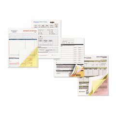 Carbonless Paper, 2-Part Reverse/Straight, 8-1/2 x 14, Canary/White, 2500 Sets