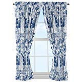 Marvel Universe Battlefront White/Blue 4 Piece Curtain/Drapes