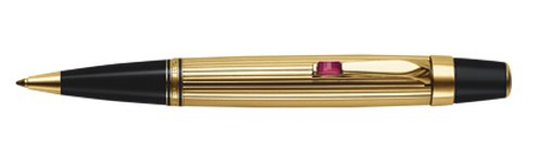 Montblanc Boheme Gold-plated Rouge Ballpoint Pen 05814
