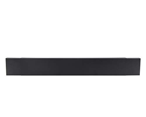 HY-C Smoke Guard for 28.5 to 48-Inch by 4-Inch Fireplaces, Black Powder Coat