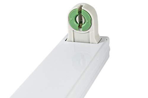 Plafoniera Tubi Led 150 Cm : Plafoniera led cm centimetri t attacco reglette supporto tubo