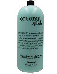 Philosophy Mega-Size 3-in-1 Shampoo, Shower Gel & bubble Bath 64 fl. oz. (Coconut Splash)