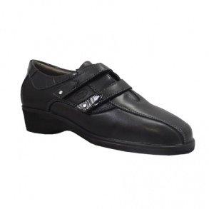 Dr.Scholl Roanne Zapato Piel Y Tela indicata para juanetes con Plantillas de Gel Activ Negro Size: 41: Amazon.es: Zapatos y complementos