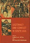 img - for Legitimacy and Conflict in South Asia (South Asian studies / South Asia Institute, New Delhi Branch, Heidelberg University) book / textbook / text book
