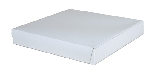 Southern Champion Tray 1460 Clay Coated Kraft Paperboard White Pizza Box, 12