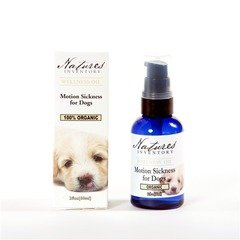 Nature's Inventory Motion Sickness for Dogs Wellness Oil 2 fl oz (60ml) Liquid