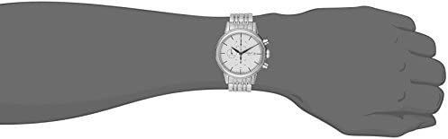 Tissot Men s T0854271101100 Carson Analog Display Swiss Automatic Silver Watch
