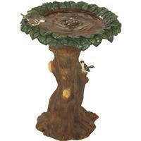 SIM Supply, Inc. Tree Bird Bath Fountain WXFO1215B by Do it Best