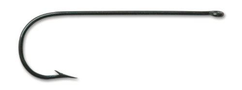 Mustad 3262 Classic Aberdeen Hook (100-Pack), Blued, Size 8