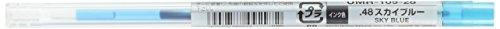 Uni StyleFit Gel Ballpoint Pen Refill, 0.28mm, Sky Blue (UMR10928.48)