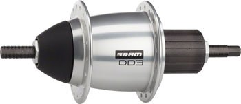 SRAM 36H Dual Drive FW Hub, Silver, 135 mm