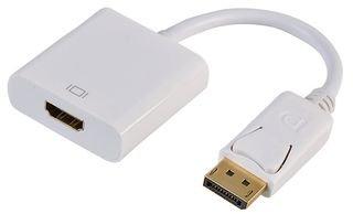 ASUS y Otras Marcas HP DELL Adaptador de DisplayPort a HDMI HDTV 1080P Macho a Hembra convertidor Cable Chapado en Oro para Lenovo