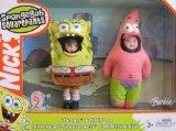 Barbie TOMMY & KELLY as Sponge Bob SquarePants and Patrick Star Dolls (Gary Spongebob Costume)