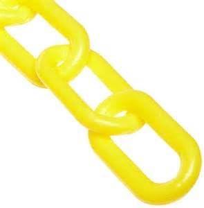 "JellyBeadZ Brand 1 1/2 "" Yellow Plastic Chain Bird Toy Parts- 5 Foot Length"