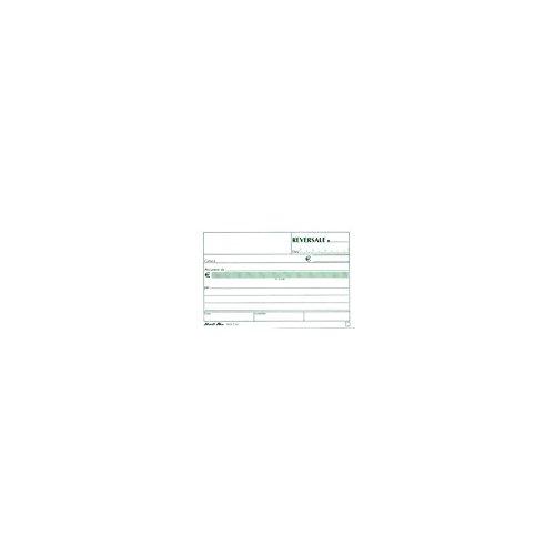 lingua inglese 69 x 140 mm Pukka Pad Confezione di 5 blocchi copiativi per fatture in duplice copia senza carta carbone