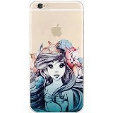 Deco Fairy Flexible Silicone Case Cover Compatible for iPhone 6 / 6s - Mermaid Princess