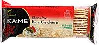 (KA-ME Rice Crackers Gluten Free Sesame -- 3.5 oz)