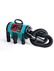 High Velocity Professional Dog Pet Grooming Hair Force Dryer Blower 5.0HP (Super Cyclone)...