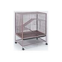 Best Quality Rat/Ferret/Chinchilla Cage / Brown Size 31 X 20.5 X 40 By Prevue Pet Products
