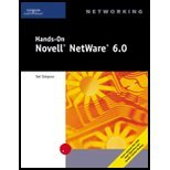 Hands-On Novell Netware 60 - Networking (3rd, 03) by Simpson, Ted [Paperback (2002)]