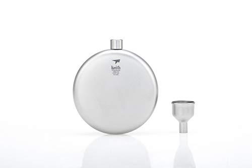 Keith Titanium Ti9302 Round Flask with -