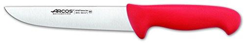 Arcos 7-Inch 180 mm 2900 Range Butcher Knife, Red