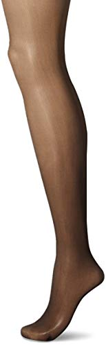 (Secret Silky Women's Medium Support Leg Control Top Pantyhose, 1 Pair, off off black, C Height: 5'6