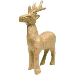 Bulk Buy: Decopatch (5-Pack) Paper Mache Figurine Reindeer AP-735
