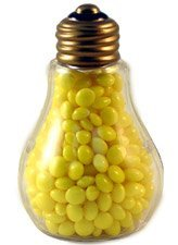 Clear Plastic Fillable Light Bulbs   Set Of 10   Candy Or Crafts