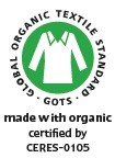 organic Efie SpucktuchSpucki rot Made in Germany kontrolliert biologischer Anbau