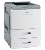 30G0311 -N Lexmark Lexmark T652TN Mono Laser Printer w/ 2 550 Sheet Drawers
