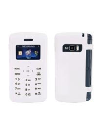 Verizon Lg Vx9200 Vx 9200 Env3 Env 3. Oem Made By Lg. Soft Gel Silicone Skin Cover Protective Case White. Black Numbers and Letters on White Case for Clearer and Easier View of the Buttons