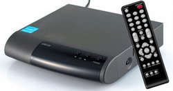 CASTi CAX-03 DTV Digital to analog TV Converter Box with Universal Remote Control