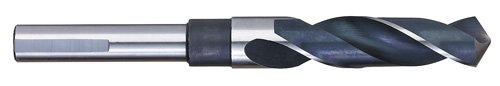 Titan SD92533 High Speed Steel Silver and Deming Drill 118 degree Angle Point 3 Flats 6 Overall Length 1//2 Shank 33//64 Size