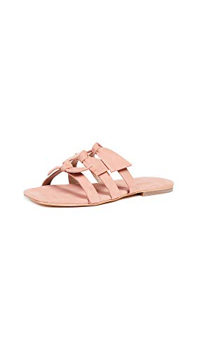 Jeffrey Campbell Women's Atone Bow Sandals, Blush, Pink, 7 M US