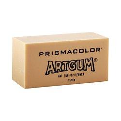 Art Eraser - Prismacolor 73030 Design ArtGum Erasers, Beige, 12-Count
