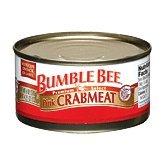 Bumble Bee Premium Select Pink Crabmeat 6 oz