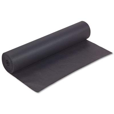 "Pacon Corporation Kraft Paper, Lightweight, 36""X1000', Black from Pacon"