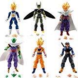 BigDBZ Super Stars Dragon Toys Goku Action Figure: Goku Gohan Vegeta Trunks Super Saiyan Piccolo Cell DBZ 6X 5 (Dragon Ball Toys Gohan)