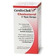 CardioChek cholestérol Bandelettes 3 ch