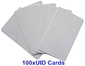 100pcs UID Card 13.56MHz Rfid PVC delgado Uid cambiable bloque 0 tarjeta de escritura